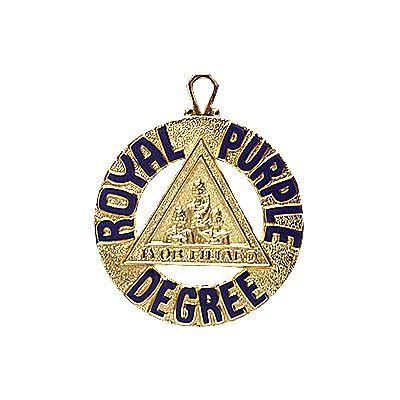 Royal Purple Degree Medallion (J136)